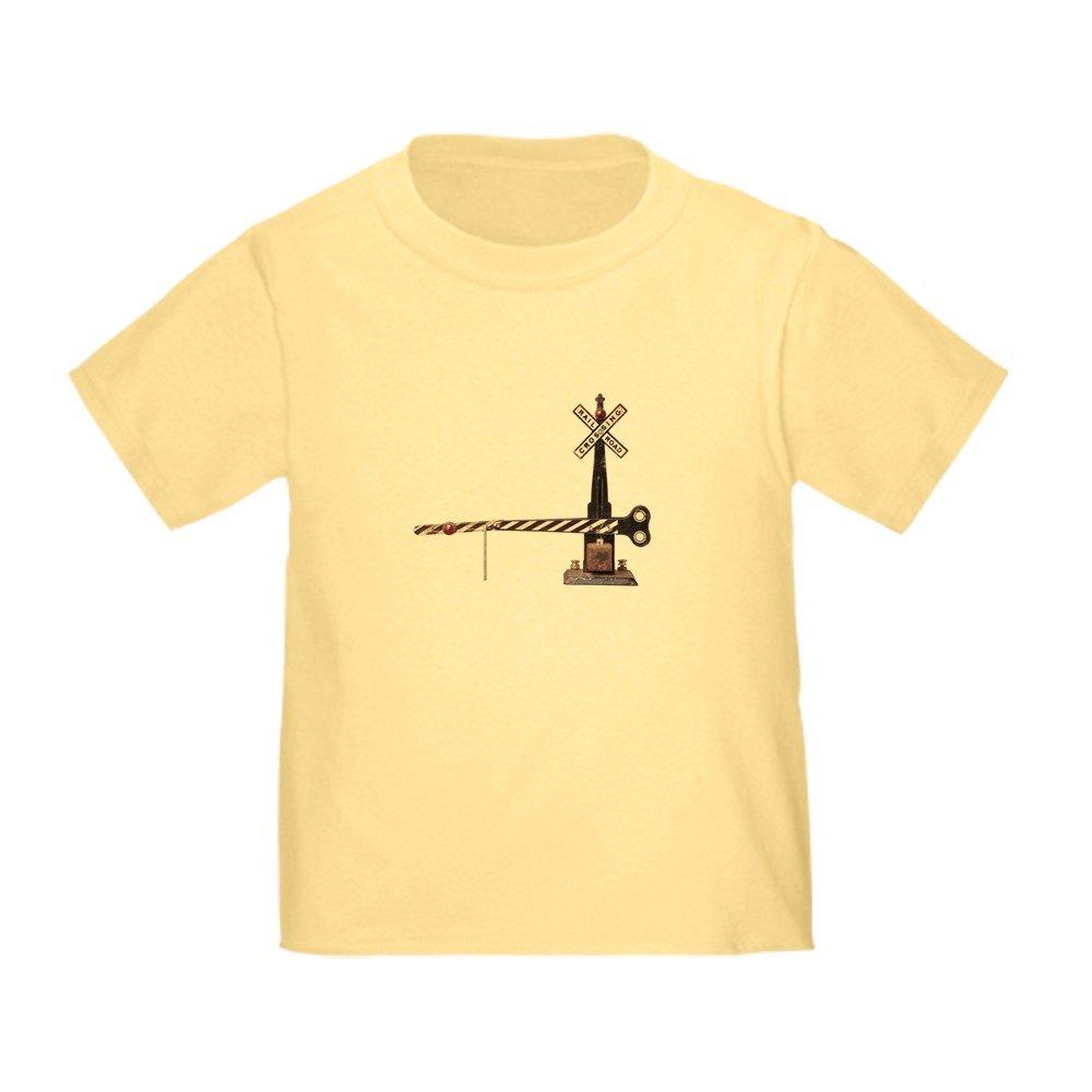 CafePress Railroad Crossing Gate Toddler Toddler Tshirt