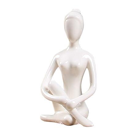 LKXHarleya 12 Estilos Posturas De Yoga De CeráMica ...