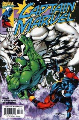 """Captain Marvel Volume 3 Issue 3 March 2000 """"One Down, Wendigo"""""""