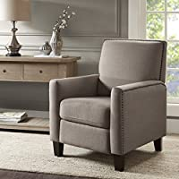 Miles Push Back Recliner Grey See below