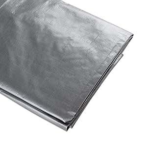 ATE Pro. USA 96076 Heavy-Duty Tarpaulin, 30 by 60-Feet, Silver
