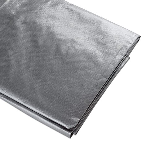 ATE Pro. USA 96090 Heavy-Duty Tarpaulin, 6 by 20-Feet, Silver by ATE Pro. USA