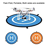 Powerextra-30-75cm-Fast-Fold-Portable-Landing-Pad-for-RC-Drones-Helicopter-DJI-Mavic-Pro-Phantom-2344-Pro-Inspire-21-3DR-Solo-Parrot-Antel-Robotic-Syma-Hubsan-Holy-Stone-UDI