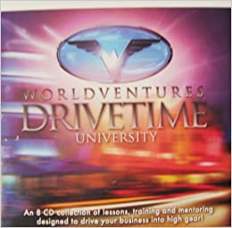 Worldventures Drivetime University Audio Cds To Drive Your