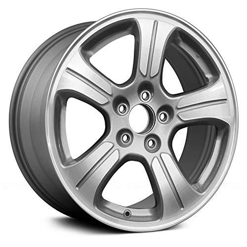(Replacement 5 Spokes Medium Gray Factory Alloy Wheel Fits Honda Pilot)