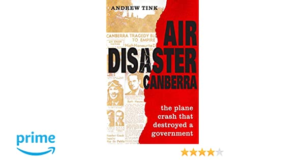 air disaster canberra tink andrew