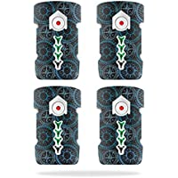 Skin For DJI Inspire 1 Drone Battery (4 pack) – Compass Tile | MightySkins Protective, Durable, and Unique Vinyl Decal wrap cover | Easy To Apply, Remove, and Change Styles | Made in the USA