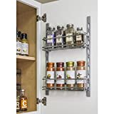 Hardware Resources DMS3-PC-R Door Mount Tray System, Chrome