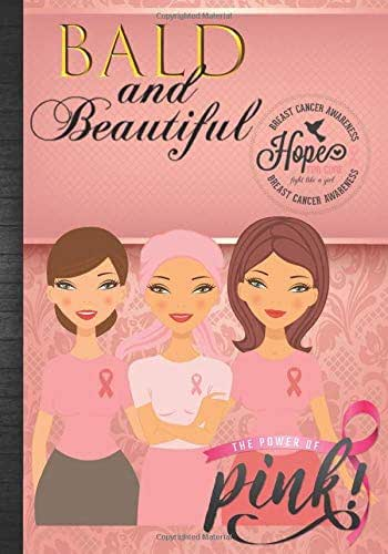 Breast Cancer Awareness Bold and Beautiful: Breast Cancer Awareness Month Pink Ribbon Fight Like A Girl Daily Planner Journal + Positive Affirmations Gratitude Book To Write In Gift Idea