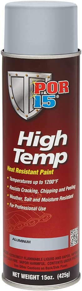 POR-15 44318 Aluminum High Temperature Paint - 15. oz