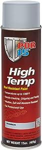 POR-15 44318 Aluminum High Temperature Paint - 15. oz