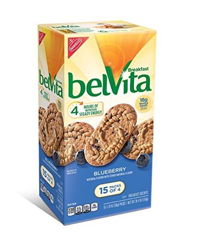 belVita Breakfast Biscuits, Blueberry, 15 Count, 26.4 Ounce by Belvita