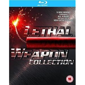 Lethal Weapon 1 4 [Blu ray] nur 17,90€ inkl. Versand