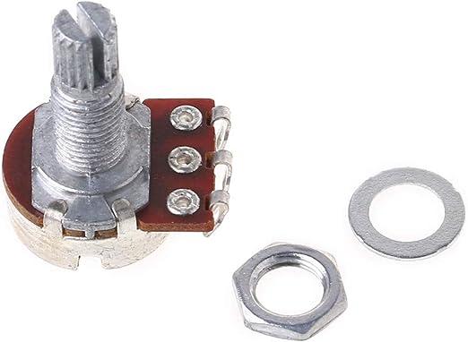 ruiruiNIE A25K Potenciómetro para Guitarra Eléctrica, Pot ...