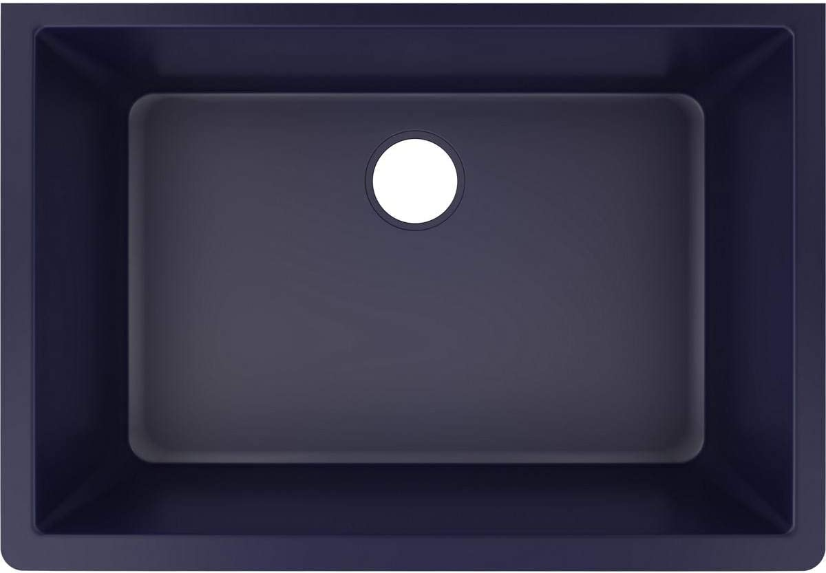 Elkay ELXRU13322JB0 Quartz Luxe Single Bowl Undermount Sink, Jubilee