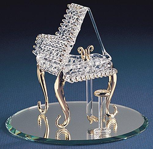 Piano Glass - Baby Grand Piano Glass Figurine