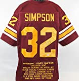 O.J. Simpson Autographed Jersey - OJ W Insc COA - PSA/DNA Certified - Autographed College Jerseys