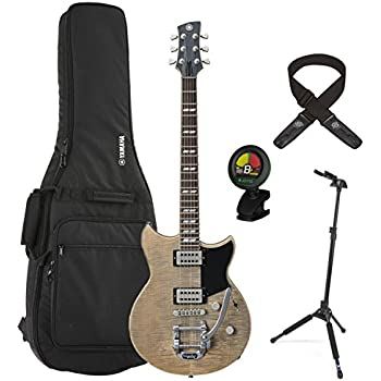 yamaha rs720b agr ash grey revstar electric guitar w gig bag locking stand tuner. Black Bedroom Furniture Sets. Home Design Ideas