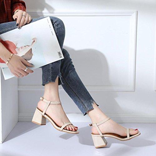 Jamicy Beige Cheville Femme Bride Sandals XqwTrXZ