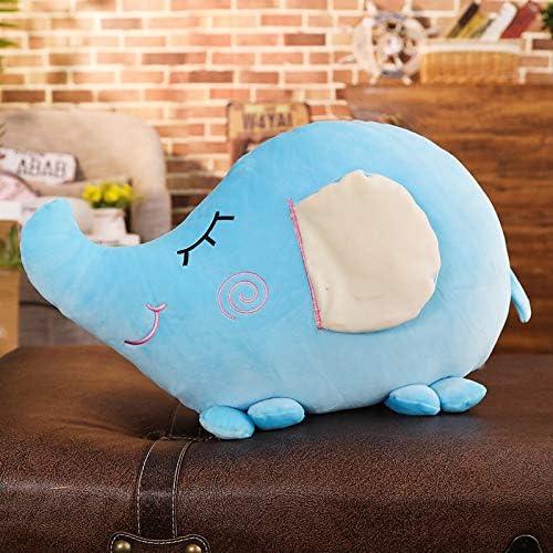 TYKCRt Lindo Color Caramelo Feliz Pequeño Elefante Abajo Algodón De Azúcar Almohada Juguetes Sofá Cojín 40 X 60cm F: Amazon.es: Juguetes y juegos