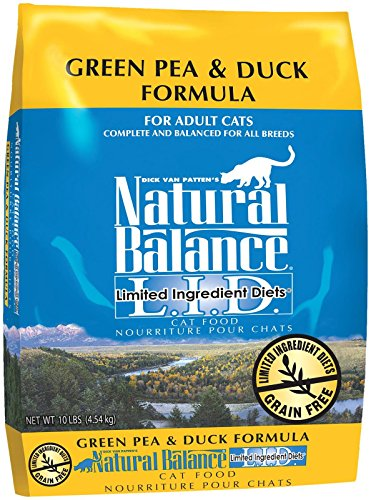 Natural Balance Green Pea & Duck Formula Dry Cat Food - 10 lb by Natural Balance