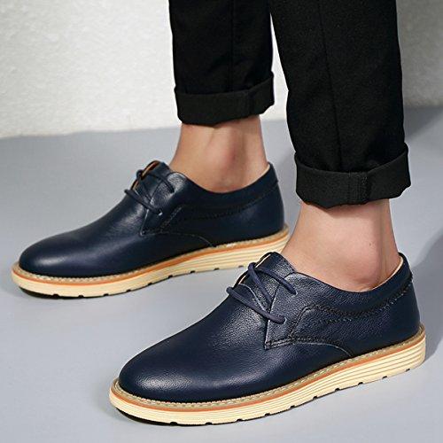 Miyoopark , Chaussures de ville à lacets pour homme - bleu - bleu,