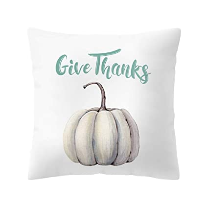 Amazon.com: S-Forward Home Textile Watercolor Pumpkin ...