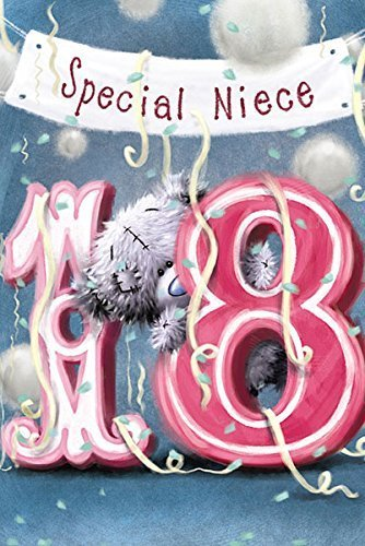 Me To You Niece 18th Birthday Card Amazoncouk Toys Games