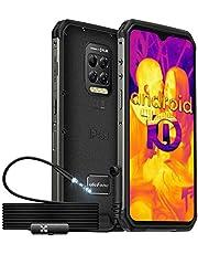 Ulefone Armor 9 Outdoor Smartphone met FLIR Warmtebeeldcamera & Waterdichte Endoscoop 6.3 Inch FHD + 64MP Camera 128GB ROM + 8GB RAM 6600mAh IP68 Waterdichte Mobiele Telefoon Zonder Contract
