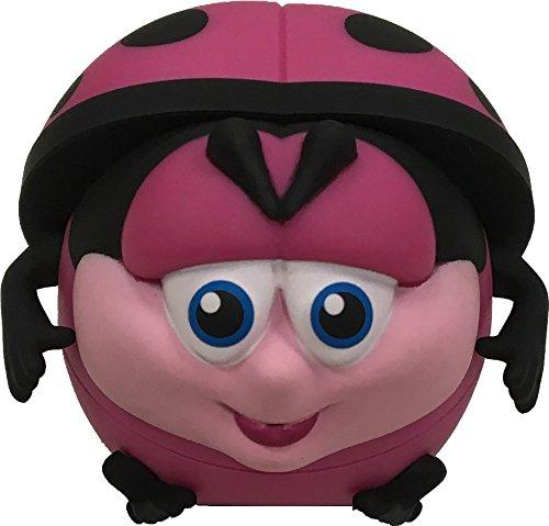 BeBe Bartoons Fun and Collectible Lip Balms - Ladybug (Pink Lemonade Flavor) - 1 Pod Per (Fun Collectibles)