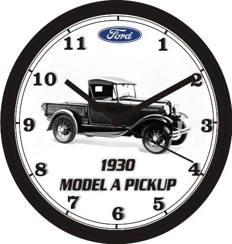1930 FORD MODEL A PICKUP TRUCK WALL CLOCK-FREE USA SHIP!