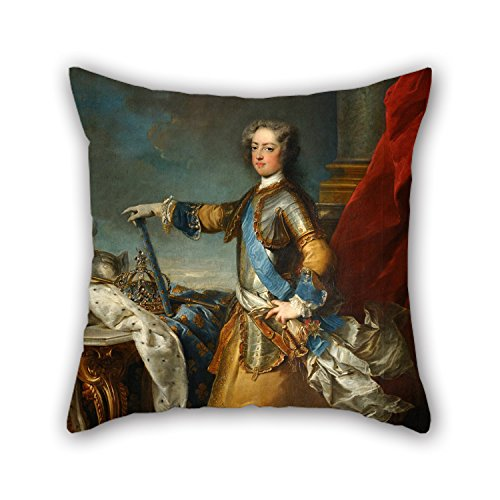 [Artistdecor Oil Painting Jean-Baptiste Van Loo - Louis XV, Roi De France Et De Navarre (1710-1774) Pillow Shams ,best For Lover,sofa,outdoor,teens Girls,seat,kids Room 16 X 16 Inches / 40 By 40] (Et Costume For Dogs)
