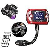 M.Way LCD Car Kit MP3 Bluetooth Player Audio FM Transmitter FM Modulator Radio SD MMC