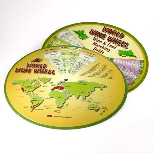 World Wine Wheel/Food Matching Guide
