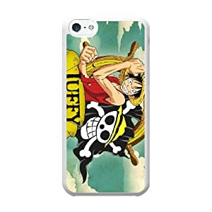 ONE PIECE R5S2FS7V Caso funda iPhone 5c Caso funda del teléfono celular blanco