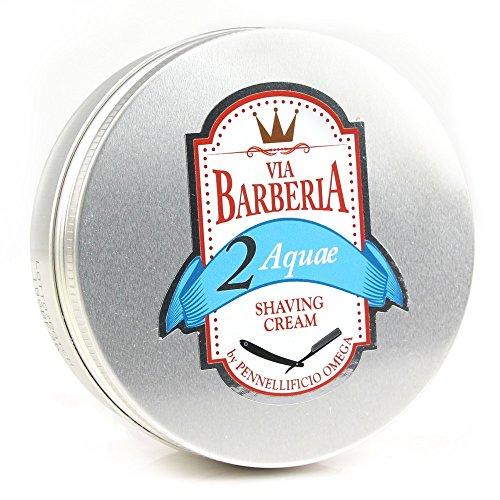 Price comparison product image Via Barberia Shaving Cream - Italian Shaving Cream for Men - 3 Scents! (SCENT: Aquae)