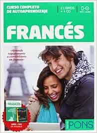Curso Pons Francés - 2 LIBROS+4 CD S+CAZAPALABRAS+DVD Pons