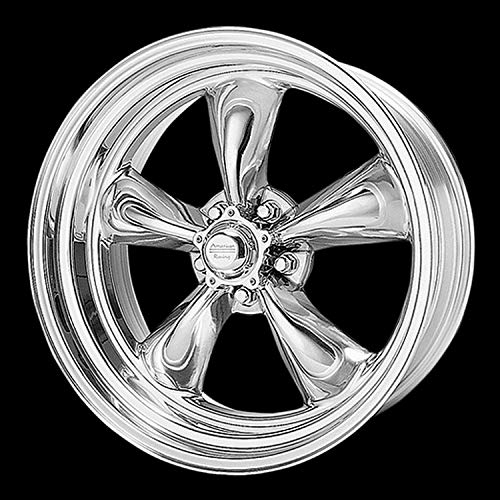 American Racing Hot Rod Torq Thrust II VN515 Polished Wheel (15x7