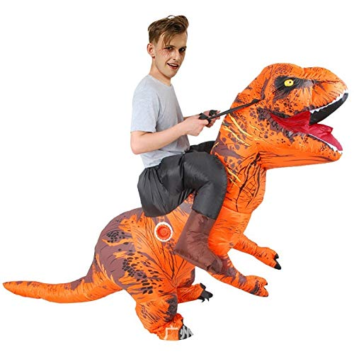 SUN HUIJIE Disfraces de Halloween del Traje de Dinosaurio ...