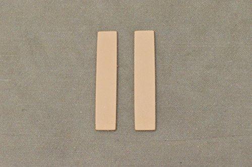 12pk-Leather Rectangle Die Cut 3-4 oz Veg Tan Artisan's Choice DIY (Die Cut Leather)