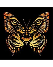 Sanwooden Dress up Your Life Modern Art Tiger Face Butterfly Shaped Partial Drill DIY Resin Diamond Painting - 7314
