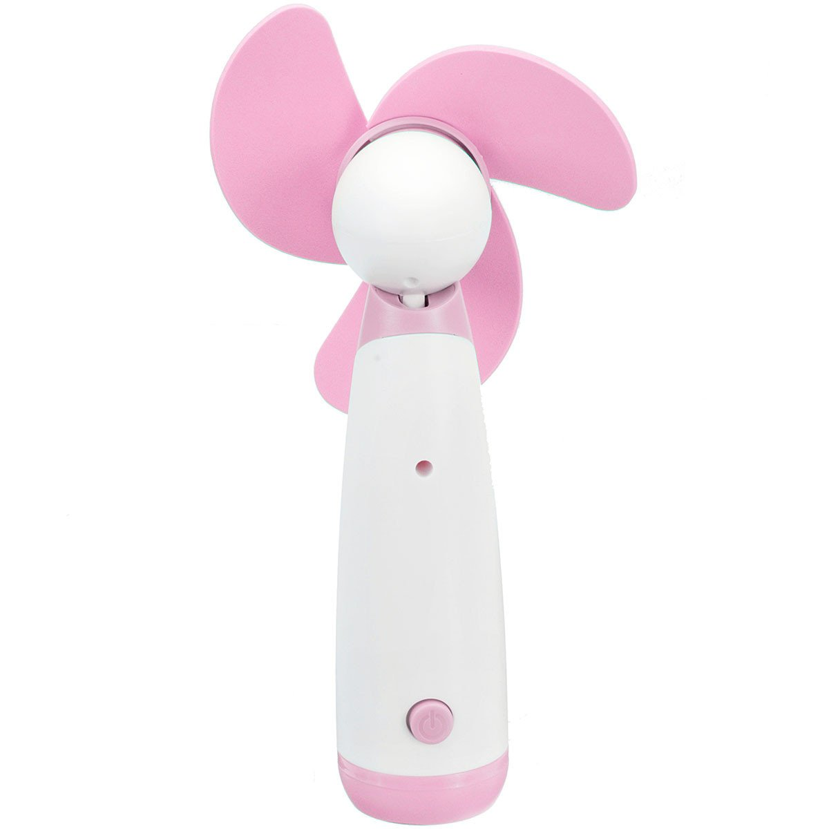 SAFETYON Handheld Ventilator Mini Standventilator Super Mute Fan Personal Portable Electric Cooling Fan for Home and Travel Battery Operated pink