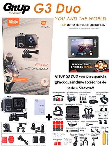 Gitup G3 Duo Pro VERSIÓN ESPAÑOLA +Maleta con 50 Accesorios ...