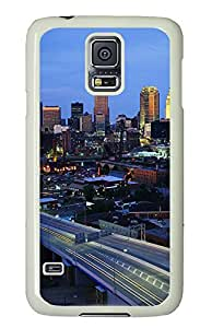 Samsung Galaxy S5 Cases & Covers - Cleveland Ohio PC Custom Soft Case Cover Protector for Samsung Galaxy S5 - White