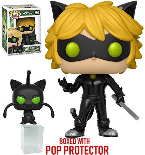Funko Pop! Animation: Miraculous - Cat Noir with Plagg Vinyl