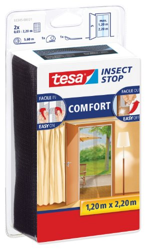 Tesa Insect Stop Comfort 55345-00021-00 Mosquito Net For Doors By Tesa Uk by Tesa® Insect Stop