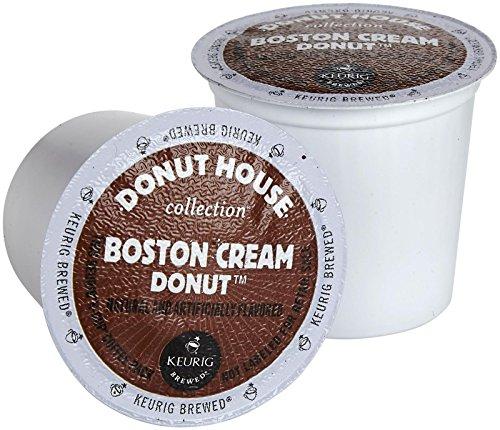 Donut House Boston Cream Donut Keurig 2.0 K-Cup Pack, 18 Count