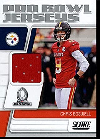 outlet store 2a7b6 534f5 Amazon.com: 2019 Score Pro Bowl Jersey Card #16 Chris ...