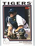 2004 Topps Baseball Card # 500 Ivan Rodriguez - Florida Marlins - MLB Trading Card