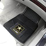 Fanmats ® - Pair of US Army Universal Vinyl Front Floor Mats (11035)